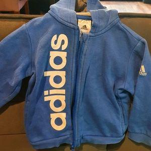 Adidas Blue toddler jumper